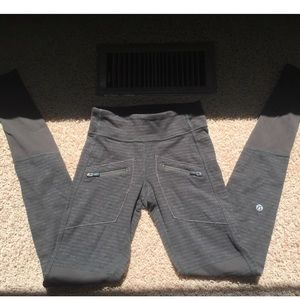 "Lululemon ""work it out pant"" leggings size 2"